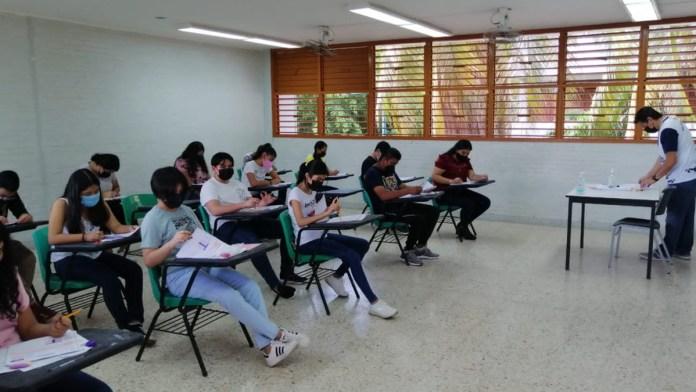 Registró examen de PAENMS 94% de asistencia