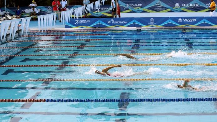 Nadadores de QR inician en Juegos CONADE