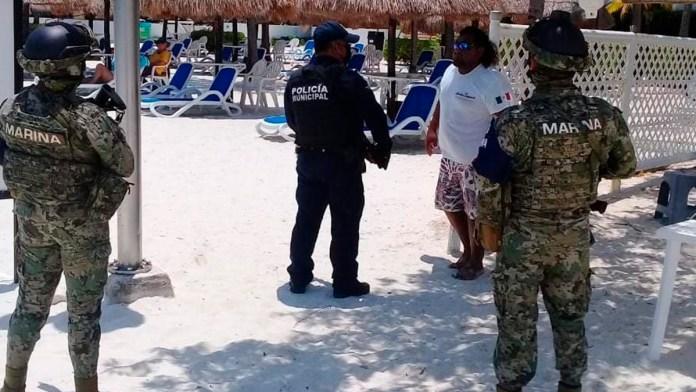 Ejecutan a sujetos en playas de QR personas