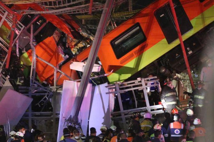 Promete AMLO reapertura de Línea 12 en un año