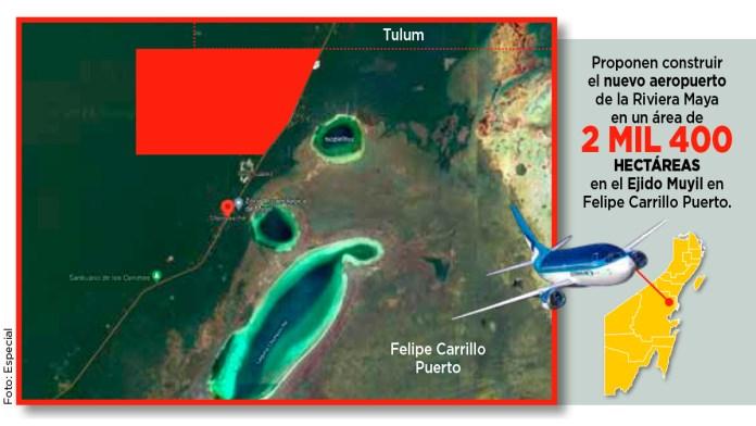 Albergará zona maya al nuevo aeropuerto