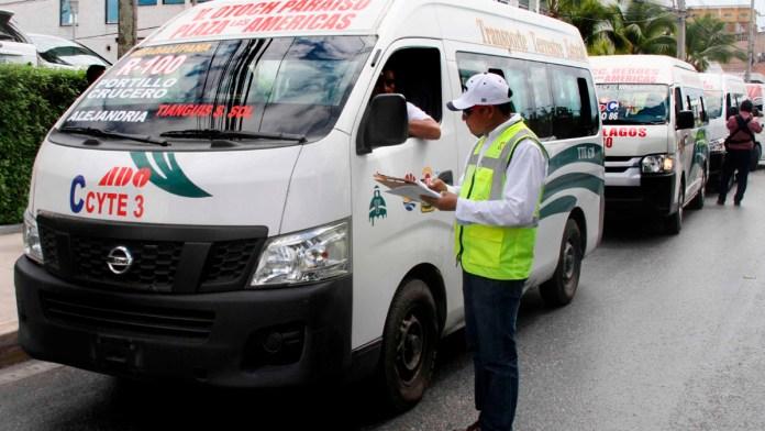 Crean nuevo reglamento de transporte público en Cancún