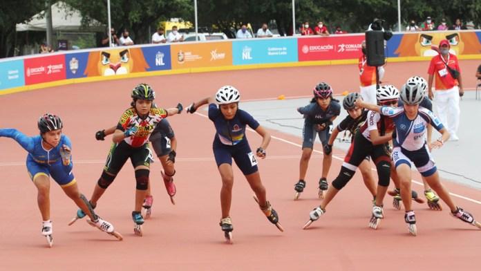 Alcanzan patinadoras de Quintana Roo podio nacional
