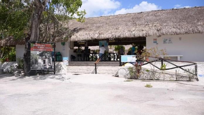 Parques y museos de Cozumel, con daños mínimos