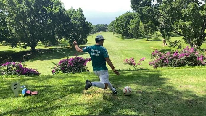 Termina Piero Menor segundo en Nacional de Footgolf