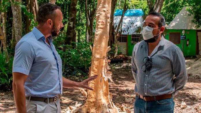 Rehabilitarán Jardín Botánico de Puerto Morelos