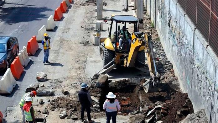 Acusan daños a casas por Trolebús Elevado CDMX