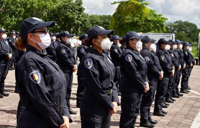 Presentan en QR la primera agrupación policial femenil de élite del país
