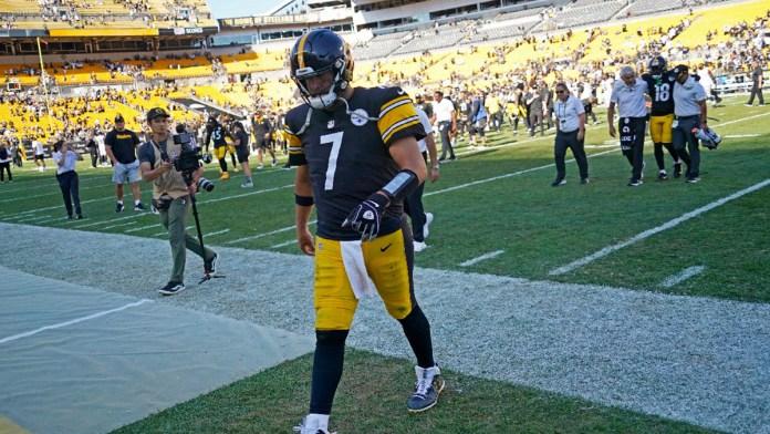 Alarma en Pittsburgh, Big Ben está lesionado