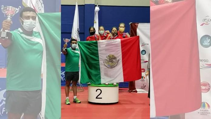 Gana Clío Bárcenas plata en Panamericano de Tenis de Mesa