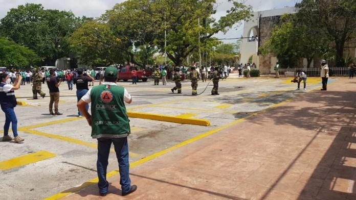 Convocan en Cancún a simulacro nacional