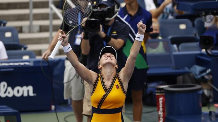 Hila Simona Halep triunfos en US Open