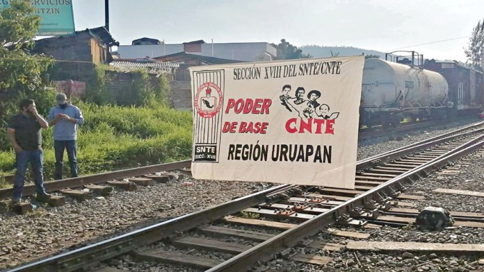 Bloqueos a vías de tren propician desabasto