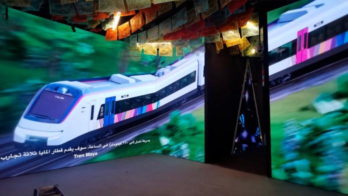 Presumirán Tren Maya en Expo Dubai 2020