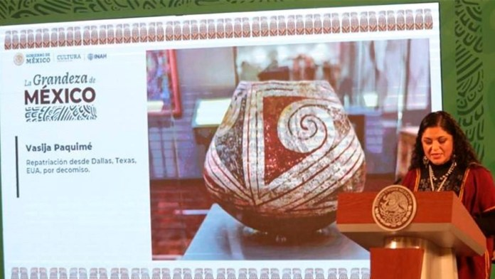 Repatrian bienes para exposición 'La Grandeza de México'