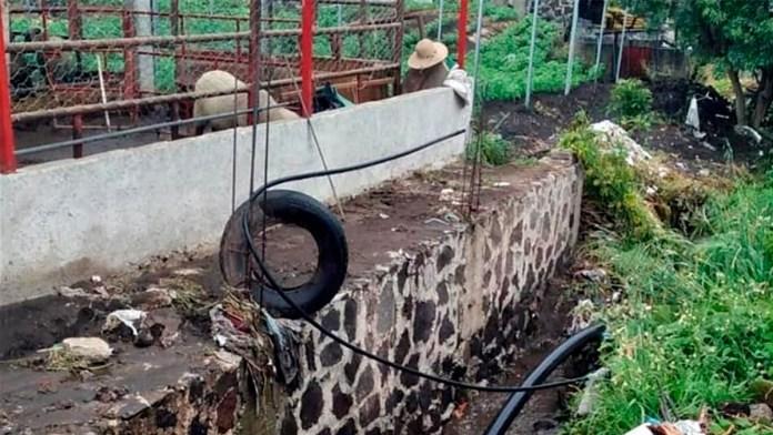 Tapan drenaje de CDMX 40 toneladas de basura al día