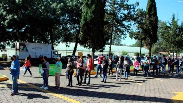 Pagan por dosis a Guardia Nacional en Naucalpan