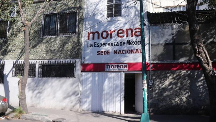 Pulen con programas estructura de Morena