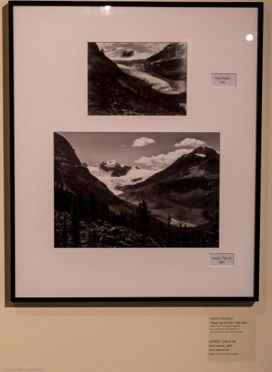 Fotografias del glaciar Peyto de la familia Vaux
