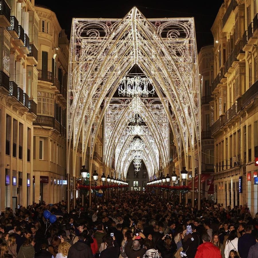 Mlaga 20142015  Luces de Navidad en tu Ciudad