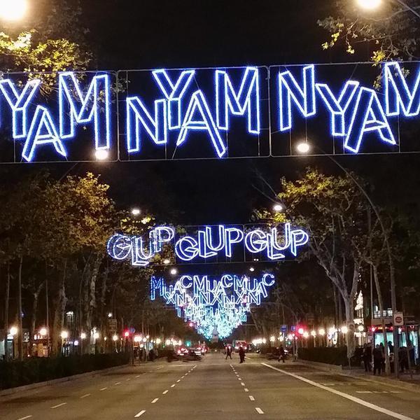 Barcelona 20142015  Luces de Navidad en tu Ciudad