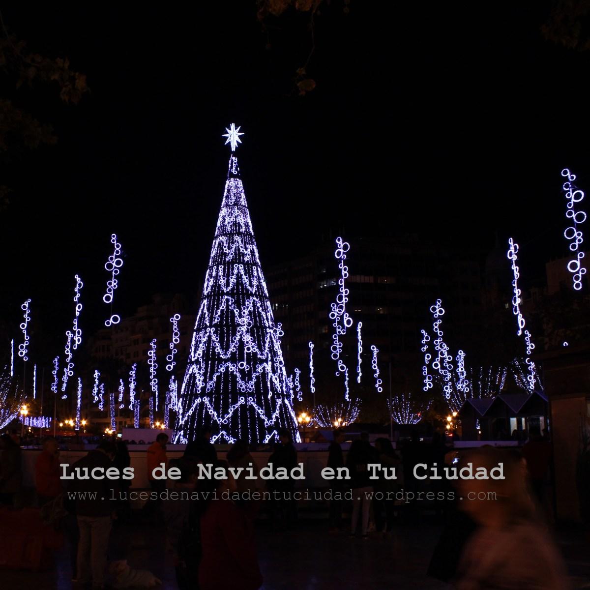 Plaza del Ayuntamiento  Luces de Navidad en tu Ciudad