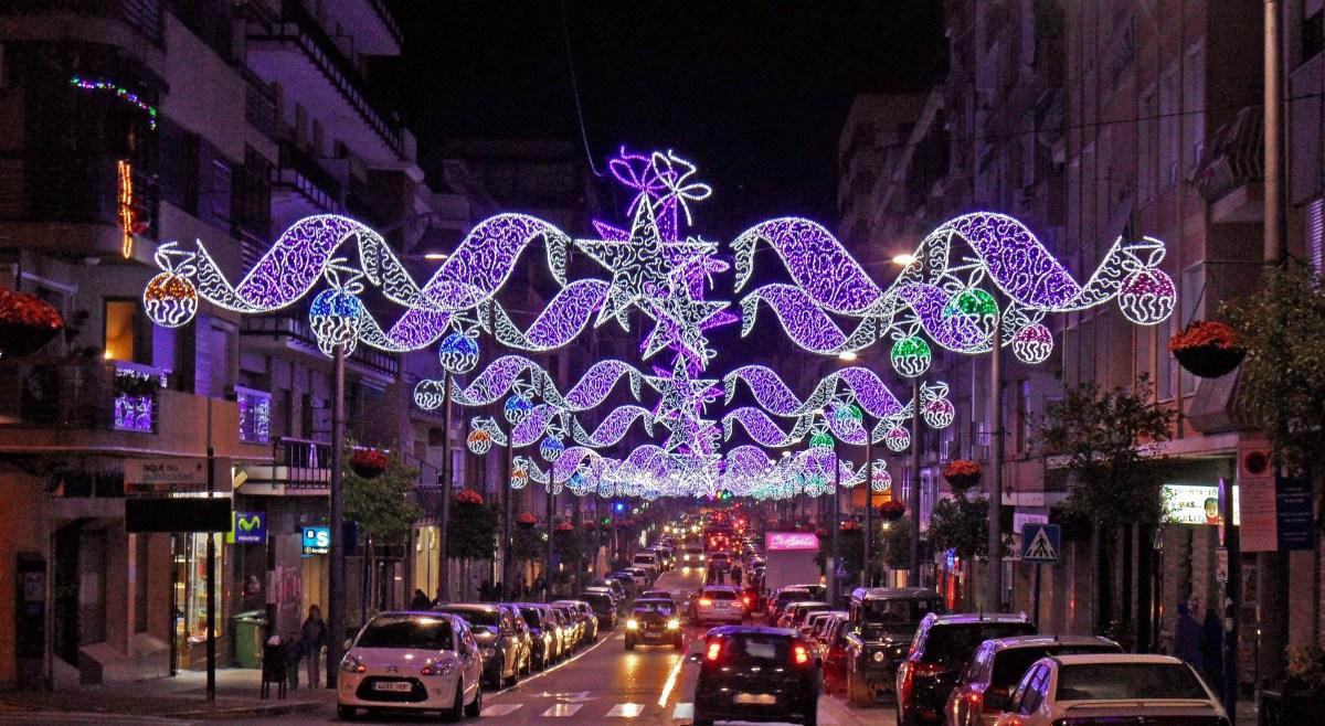 Caravaca de la Cruz Murcia 20142015  Luces de Navidad en tu Ciudad