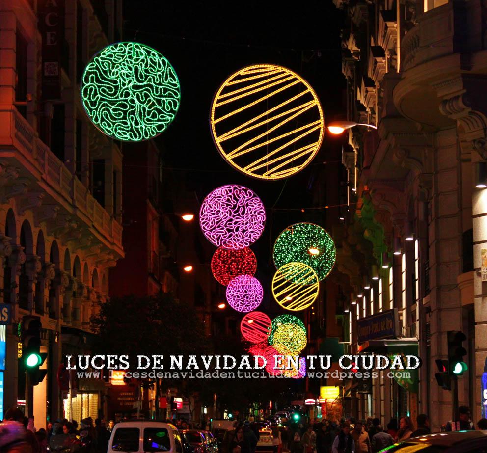Calle Hortaleza  Luces de Navidad en tu Ciudad