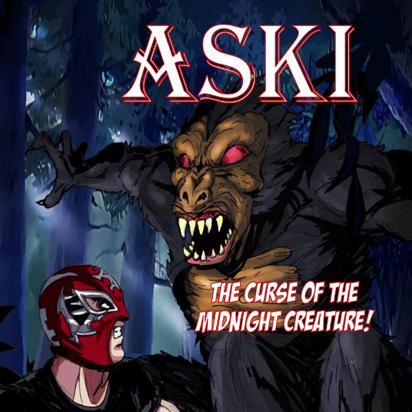 Lucha Comics - Aski in the Curse of the Midnight Creature
