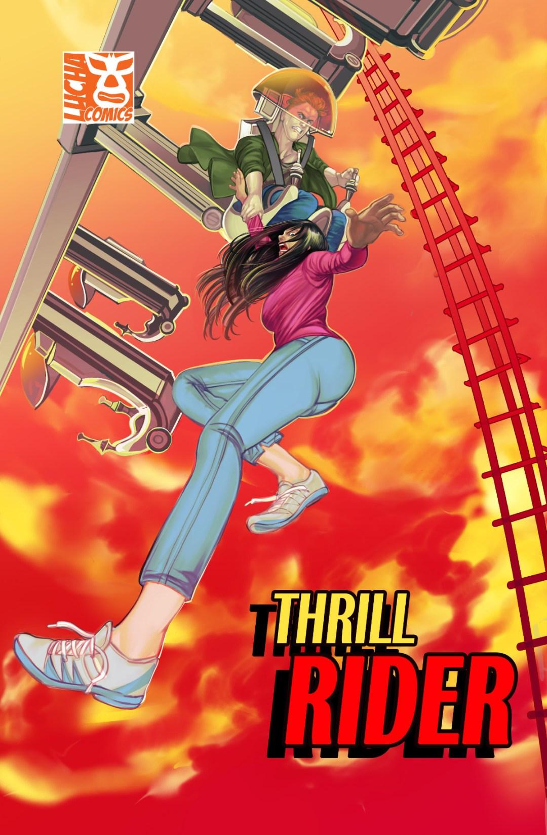 Lucha Comics - Thrill Rider Cover