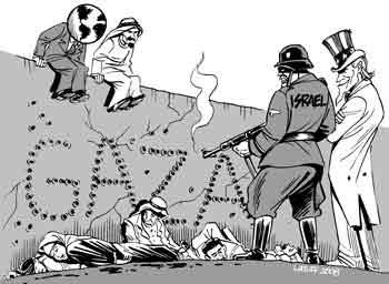 Más barbarie israelí en Gaza