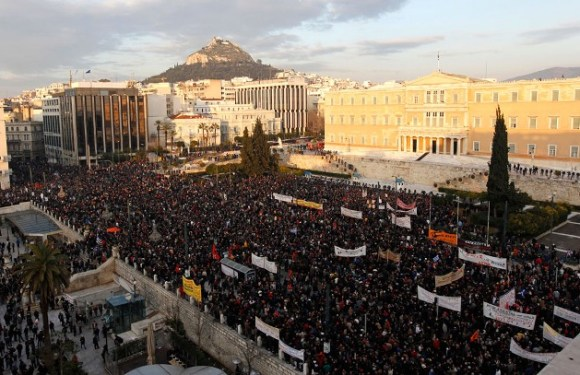 Situación pre-revolucionaria en Grecia