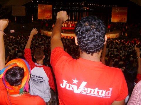 Un congreso de la JPSUV ¡YA!