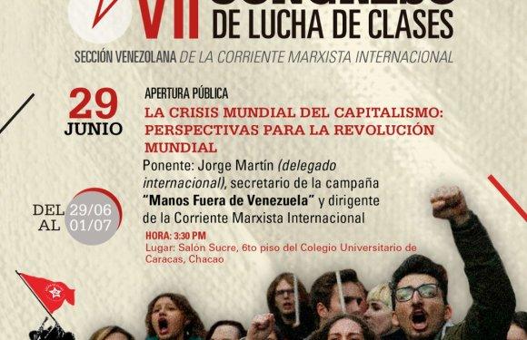 Acompáñanos a nuestro VII Congreso Nacional. Luchemos por el Socialismo
