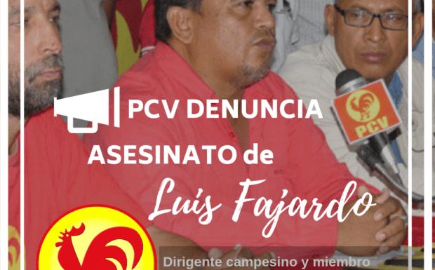 Asesinado miembro del Comité Central del Partido Comunista de Venezuela