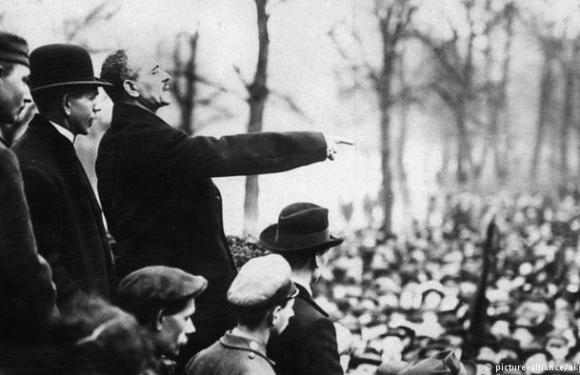 Alemania 1918: El parto de la Revolución
