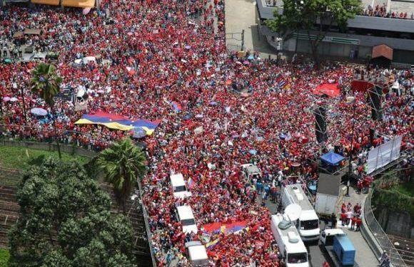 Marcha chavista contra el imperialismo: ¿cuál es el siguiente paso en el golpe de Trump?
