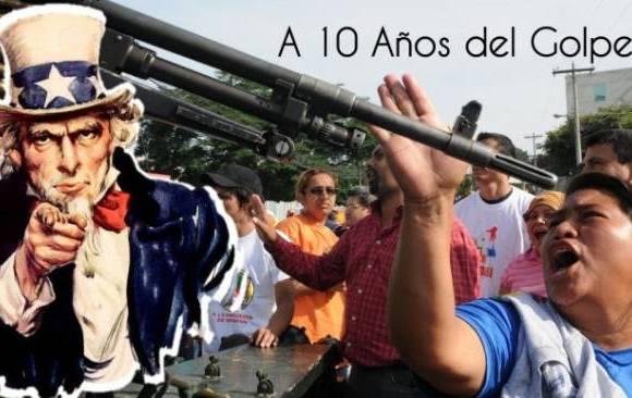 10 años de gobiernos golpistas, 10 años de lucha del pueblo catracho