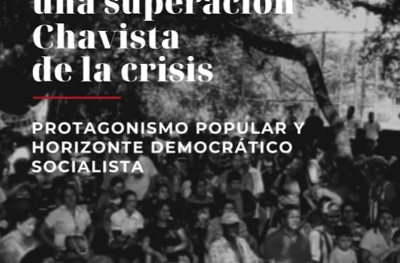 Diálogos para una superación chavista de la crisis