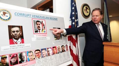 ¡Basta de injerencia imperialista! ¡Manos fuera de Venezuela!
