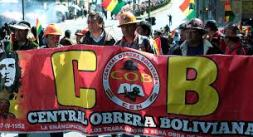 Trabajadores sindicalizados de Bolivia cumplirán un paro de 24 ...