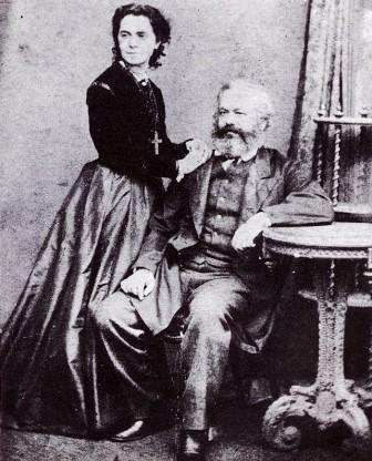 Karl Marx y Jenny von Westphalen