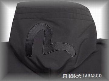 ヤマネ(evisu)カモメ刺繍 フーデッドZIPパーカー