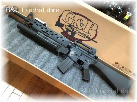 G&P M16A3 w M203 電動ガン
