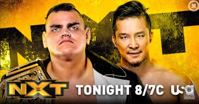 WWE NXT en vivo resultados 09 de octubre