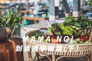 清邁行程推薦【泰國・清邁】泰式料理Mama noi廚藝教室烹飪課程(下):打拋豬、泰式奶茶、椰奶雞、泰式酸辣海鮮湯做法分享