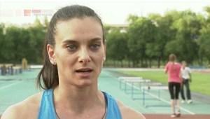Elena Isinbaeva, Russian pole vaulter