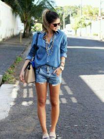 Short Jeans Como Usar?