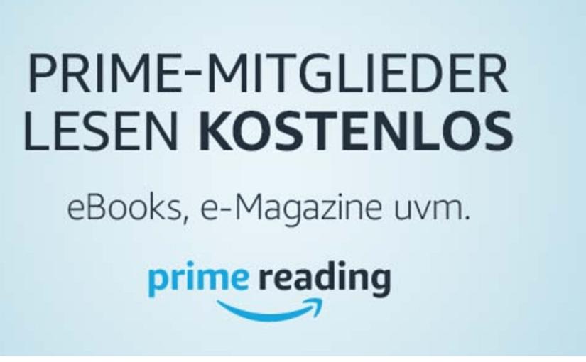 Prime Reading: la nuova biblioteca virtuale di Amazon che farà contenti autori e lettori