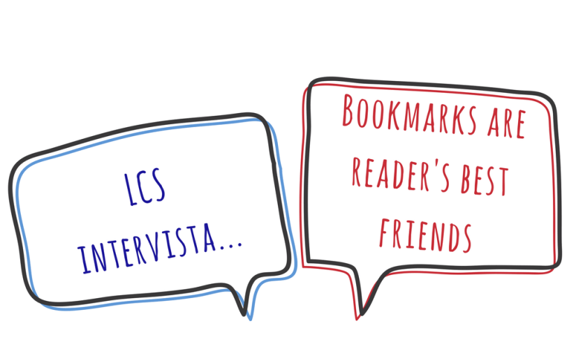 LCS intervista i blogger: Bookmarks are reader's best friends